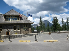 Banff Upper Hot Springs entrance