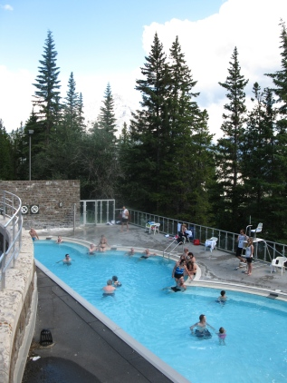 Banff Upper Hot Springs pool 1