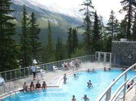 Banff Upper Hot Springs pool 2