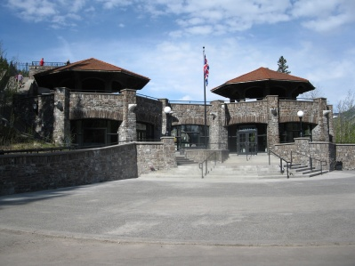 Cave & Basin front