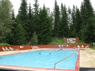 Canyon Hot Springs pool